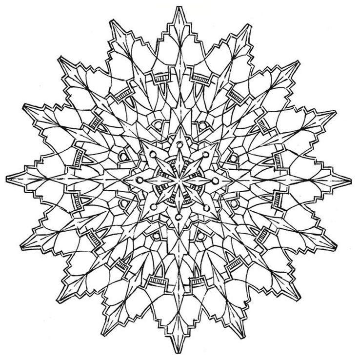 Mandala Creative Haven Kaleidoscope Designs Coloring Book Dover Publications