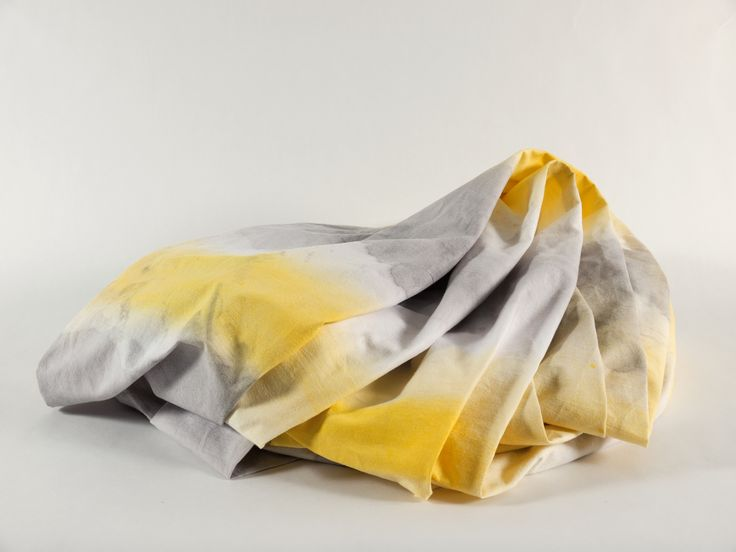Jenny Nordberg - Double staining fabric http://jennynordberg.se/3-to-5-seconds-rapid-handmade-production-2014/