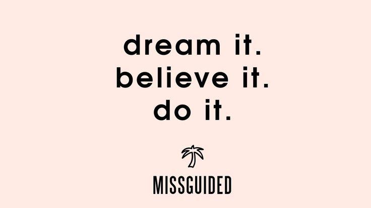 Missguided YouTube Channel | Dream it. Believe it. Do it.