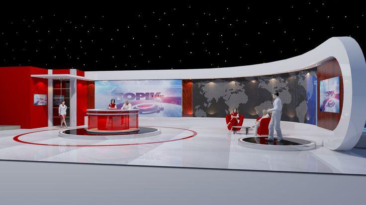 News Studio concept