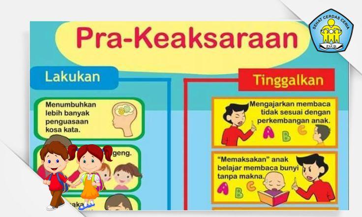 Buku Panduan Tips Metode Pra Keaksaraan Untuk Anak Usia Dini (PAUD) [Dokumen Pendidikan]