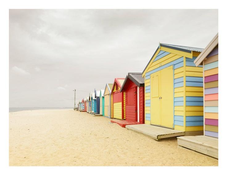 Bathing Boxes, Australia, by Josef Hoflehner