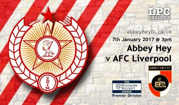 Our next game is next Saturday away to Abbey Hey. Lets start 2017 with a win. Up the reds
