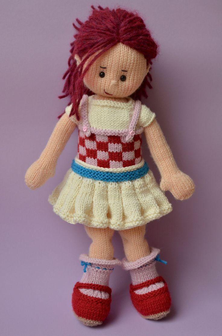https://flic.kr/p/EBX3tA | Katia | Late Spring Doll by Irishmagda www.ravelry.com/patterns/library/late-spring-doll outfit idea inspired by www.ravelry.com/patterns/library/clementine-8 ☆