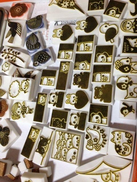 Kotori stamps - ❤️ squares 「まだカエル」の画像 ART & CRAFT KOT…  Ameba (アメーバ)