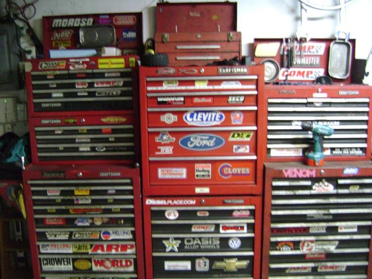 Craftsman Mechanics Tool Storage.