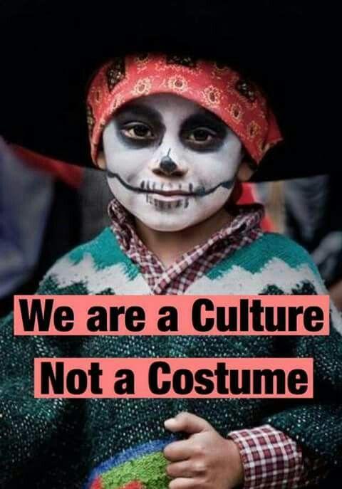 Muchas de las culturas que no son hispanios o latinos no entienden la importancia de este dia. Muchos lo miran como otro dia de espantos. El dia de los muertos es algo que debe de estar reconocida porque este dia de festejos tiene mucho significance.