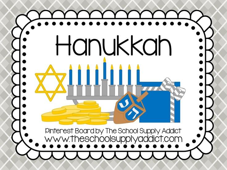 Hanukkah Pin Board by The School Supply Addict