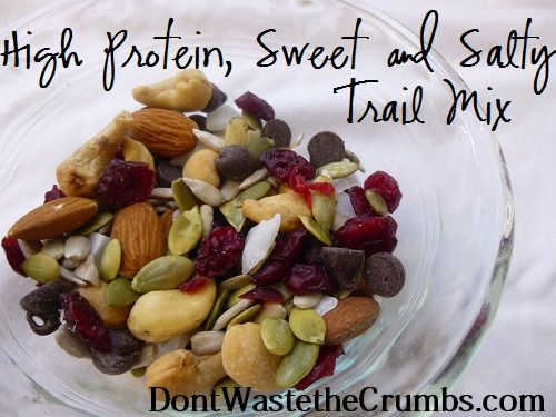 {Yummy} Recipe: High Protein Sweet & Salty Trail Mix « Don't Waste the Crumbs!Don't Waste the Crumbs!