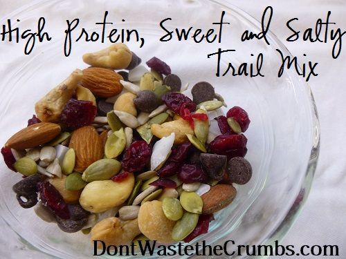 {Yummy} Recipe: High Protein Sweet & Salty Trail Mix « Don't Waste the Crumbs!Don't Waste the Crumbs!