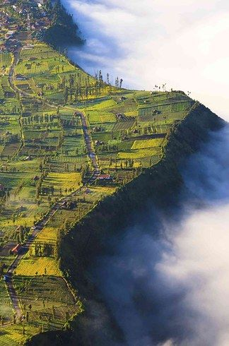 Bromo Volcano in East Java, Indonesia   25 Surreal Places You Won't Believe Actually Exist
