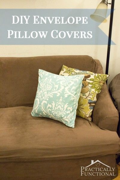 Make Your Own Envelope Pillow Covers Colors The O Jays