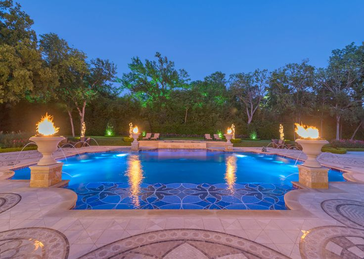 122 best images about pools on pinterest long beach for Pool design dallas texas