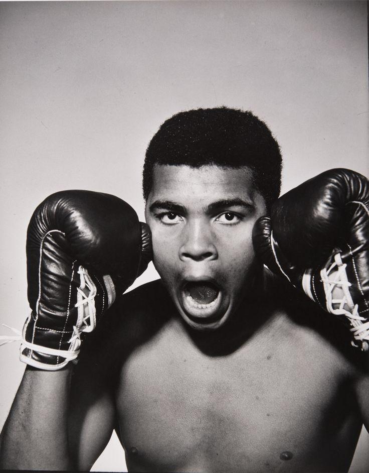 Philippe Halsman | Muhammad Ali 1963