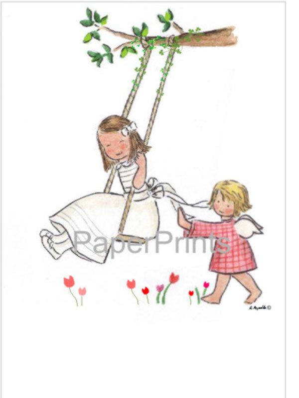 Dibujos de niñas de comunión - Imagui