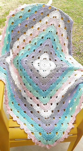 How To Crochet Virus Blanket – Crochet Video Tutorial [Inspiration 6]