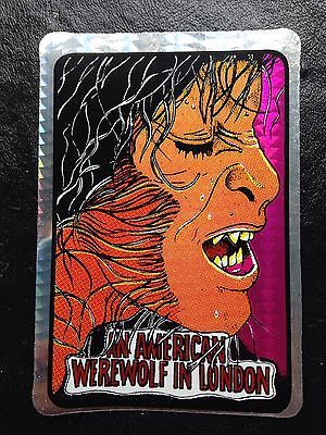 An american werewolf in london vending machine prism sticker