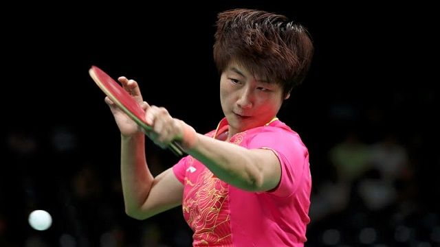 DING, LI MEET IN RIO 2016 OLYMPIC TABLE TENNIS  FINAL