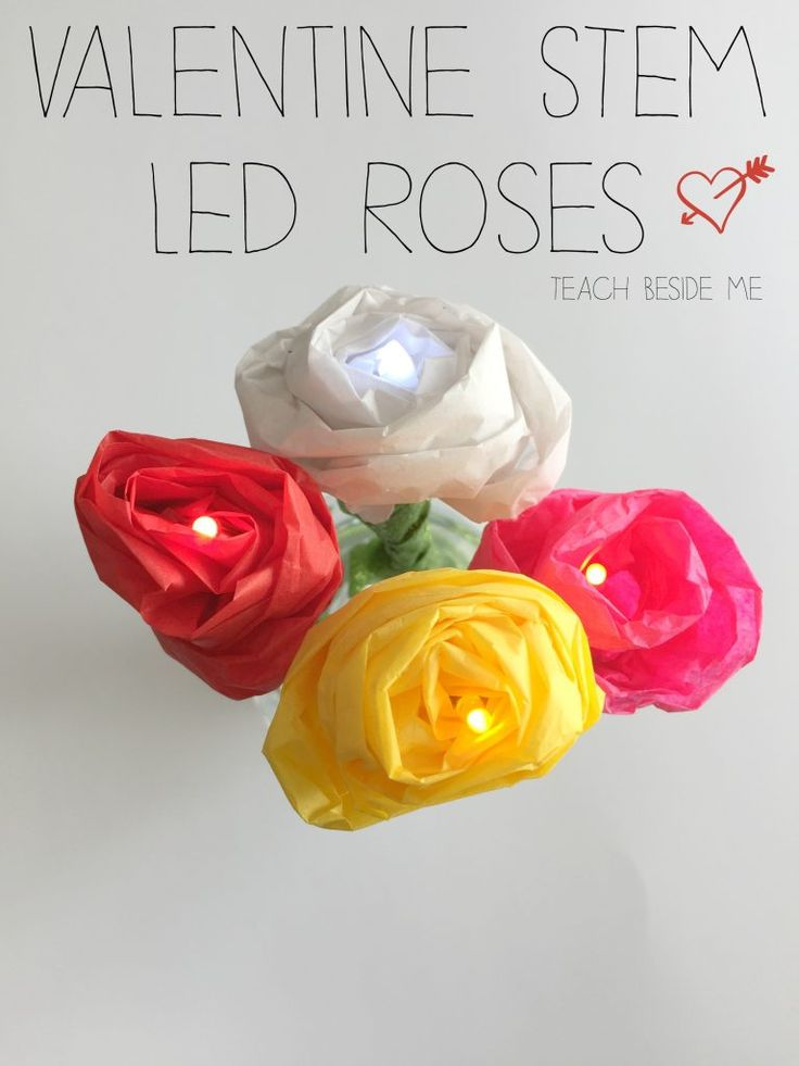 Valentine STEAM ~ LED Roses. Science FunScience ActivitiesScience ...