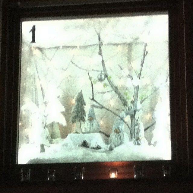 #Adventsfenster #Bretzenheim 1.12.2014