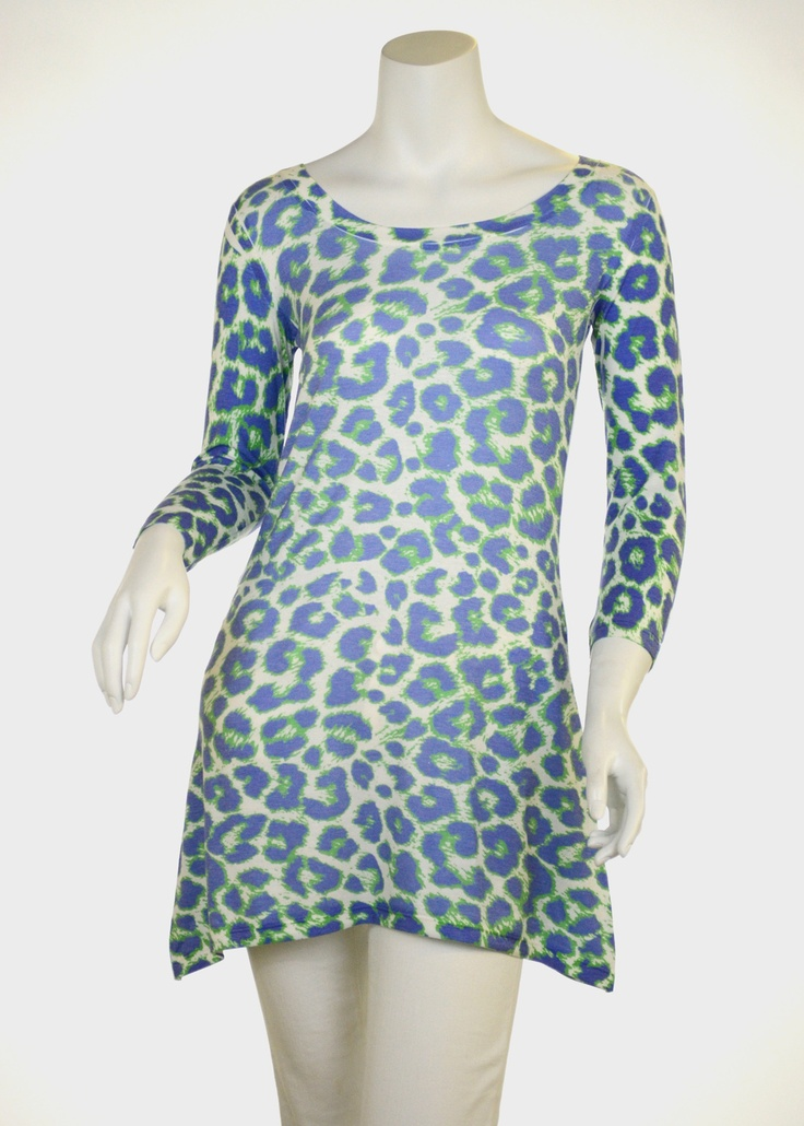 Jaguar Royal (7287) Butter Knit Tunic