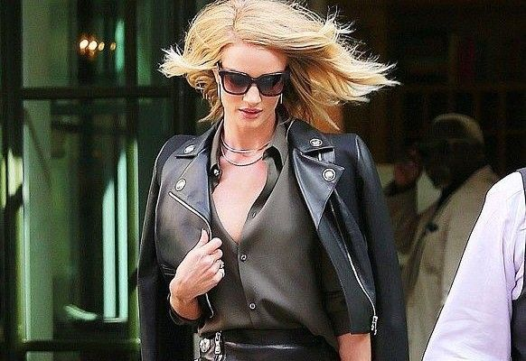 Sonbahar Kış Sokak Modası Trendi : Deri Ceketler   kadın ve trend