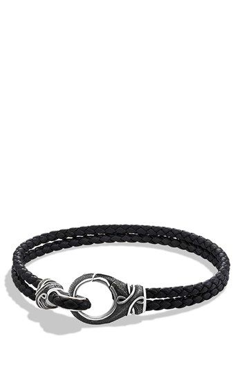 David Yurman 'Armory' Two-Row Bracelet available at #Nordstrom