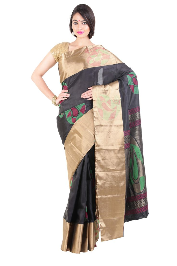 Feel Young and Elegant in our designer party wear silk sarees and be complimented like never before. . Buy our designer party wear silk sarees at flat 40% off this festive season! Hurry!