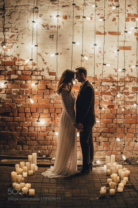 Industrial Candlelit Wedding Inspiration by ikaxhif