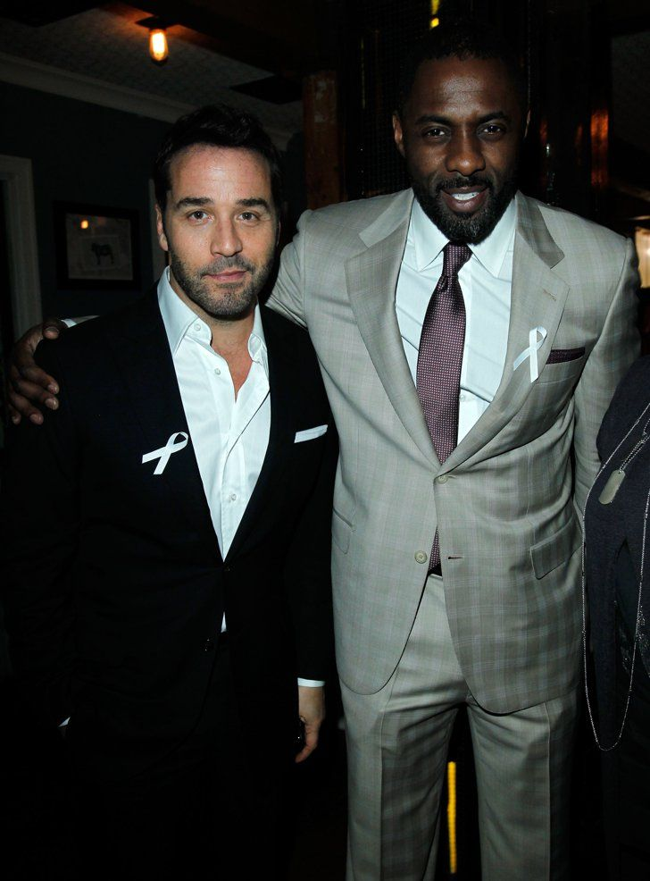 Pin for Later: Everyone Wants a Piece of Idris Elba With Jeremy Piven