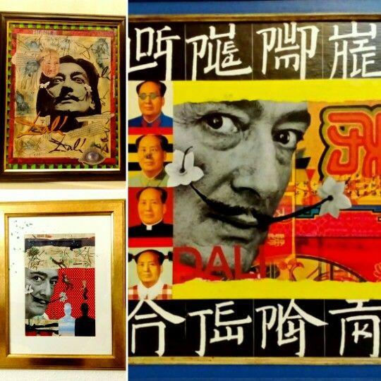 """""""Dalinismo"""". Collages ✂. Cuadros. (Gloriarte143)"""