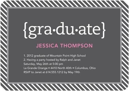 35 Best Graduation Announcements Invitations Images On