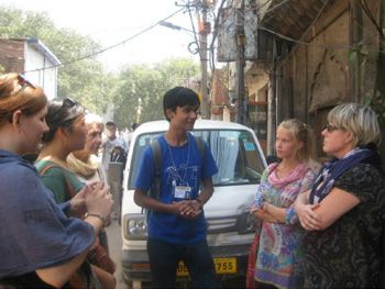 Salaam Baalak Trust City walk tour in New Delhi   NGO