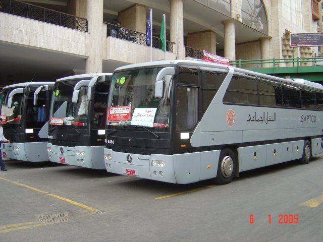 My first visit to Makkah (Mecca), from Riyadh by saptco bus