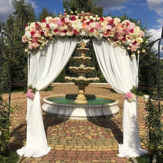Rectangle Wedding Arch 91 X83 Square Wedding Arch Wedding Altar