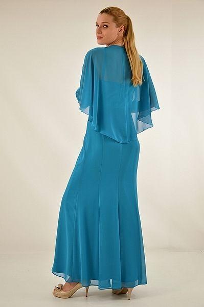 Φόρεμα μακρύ γοργονέ γραμμή
