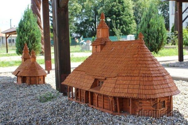 Park miniatúr - Podolie