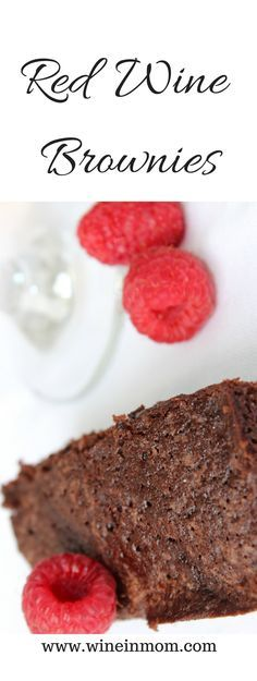 Red wine brownies make for an easy and fancy dessert perfect for date night or as a treat for yourself.
