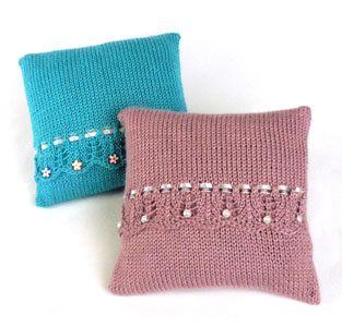 Bond America® / Scalloppini Pillow - free pattern