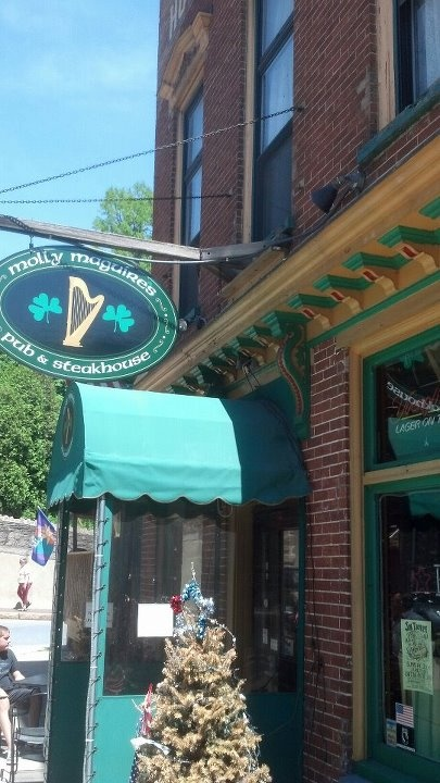 Molly Maguires Pub in Jim Thorpe, PA.  great place!!