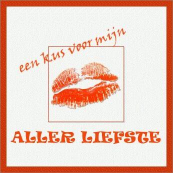 Een kus voor mijn aller liefste | weekend
