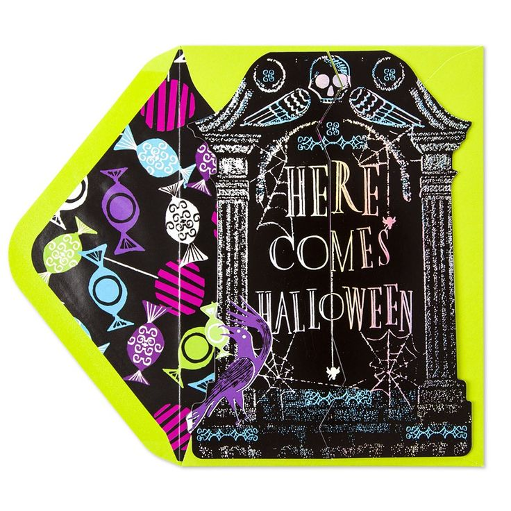 Pop Open Tombstone - Halloween - Greeting Cards