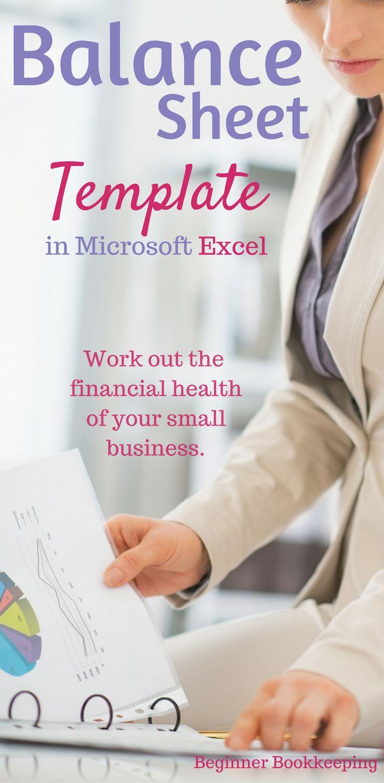 25 best ideas about Balance sheet template – Microsoft Balance Sheet Template