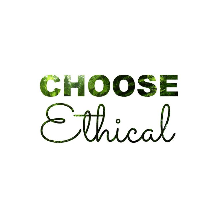 'Choose Ethical' See our blog post for this Trainspotting monologue parody.