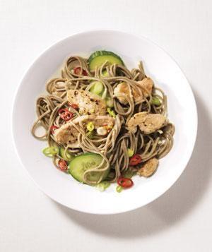 Spicy Pork and Soba Noodles | RealSimple.com