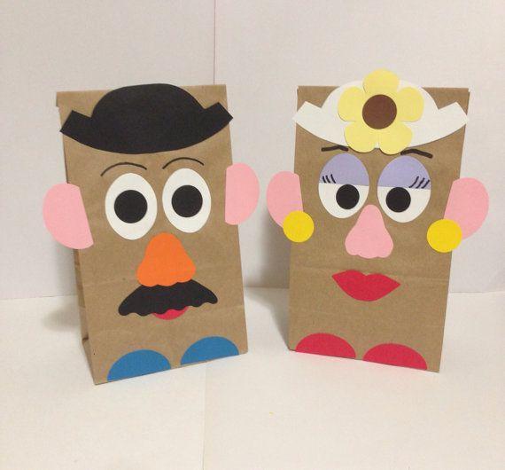 Potato head bags