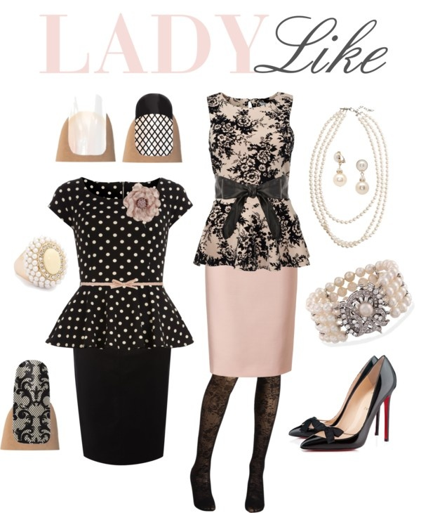"""""""Lady Like"""" by jamberrynails on Polyvore"""