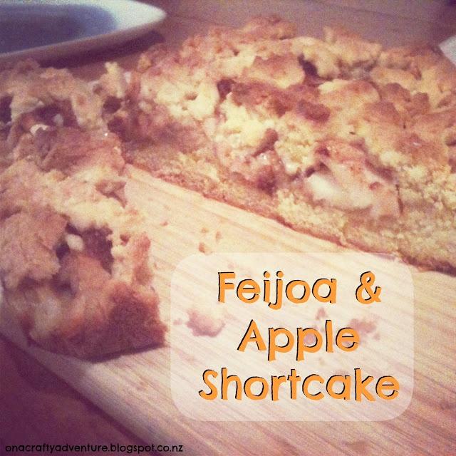 Feijoa and Apple Shortcake Recipe