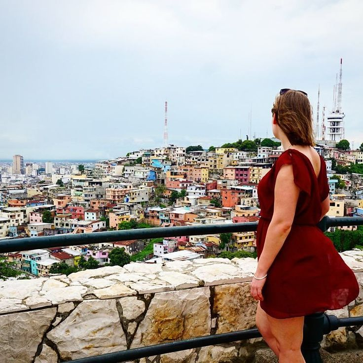 You can't tell here but I'm pretty winded after climbing 444 steps to the top of Las Penas too many burgers...totally worth it though for the beautiful views of Guayaquil . @galapagosluxurycharters @hotel_del_parque