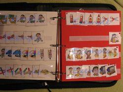 Un cahier de communication avec les pictogrammes